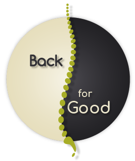 Back For Good Massage Therapy Logo - Retina
