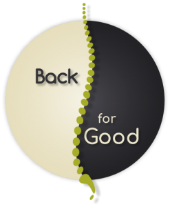 Back For Good Massage Therapy Logo - Mobile Retina
