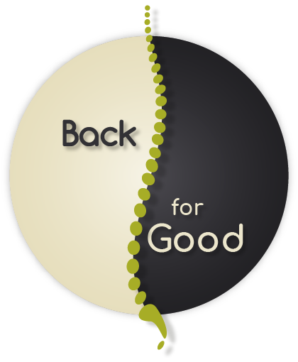 Back For Good Massage Therapy Logo Mobile - Retina