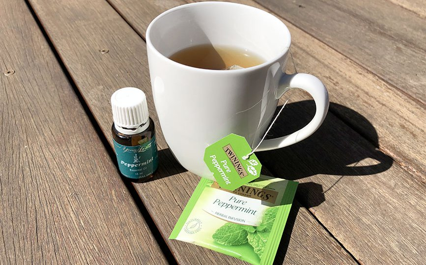 Tea With Essential Oil